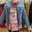 Thumbnail: Velour floral top