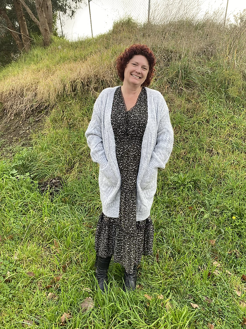 Cable Cardi with pockets