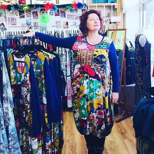 Multi Coloured Bubble dress
