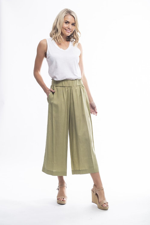 Flare summer pants by Orientique