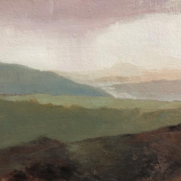 landscape with burnt sciena