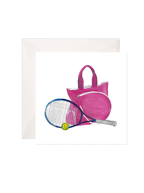 Pink Tennis Bag Gift Enclosures