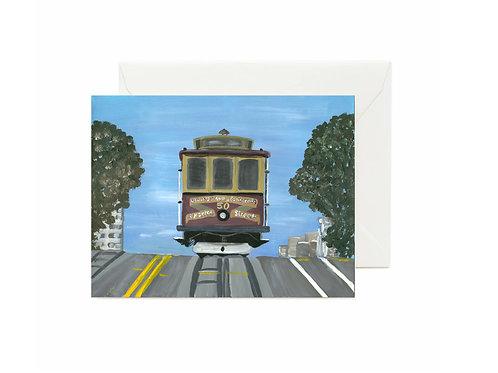 Touring San Francisco -Cable Car