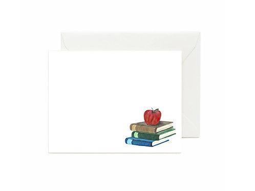 Teachers Pet Flat Note Cards