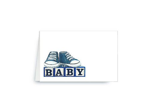 Baby Boy Baby Shower Place Cards
