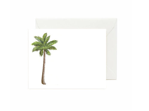 Palm Tree Flat Note Cards
