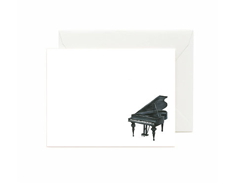 Piano Flat Note Cards