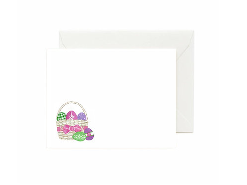 Easter Basket Flat Note Cards
