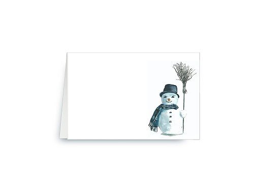 Good Ole Frosty The Snowman Place Cards