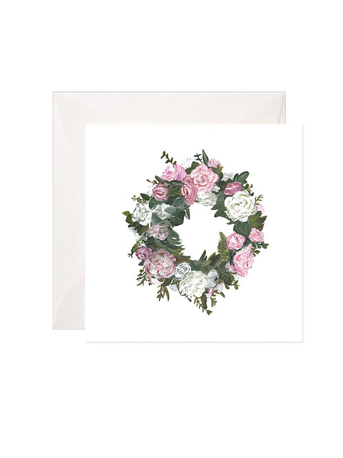 Old Fashioned Wreath Gift Enclosures