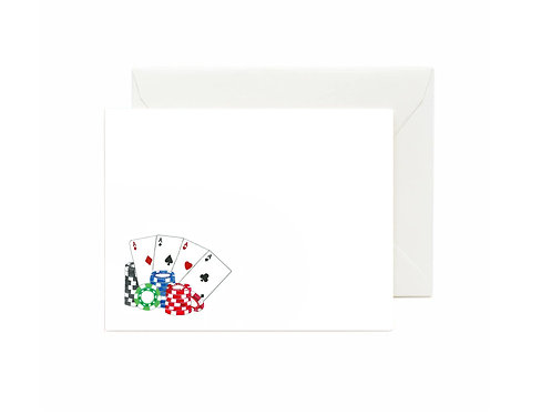 Poker Flat Note Cards