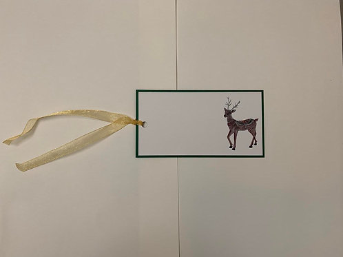 Reindeer Gift Tags
