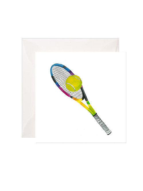 Rainbow Tennis Racquet Gift Enclosures