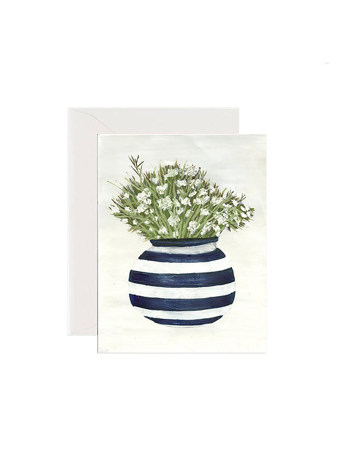 White Forget Me Nots Porcelain