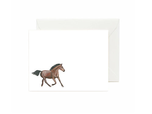 Horse Flat Note Cards