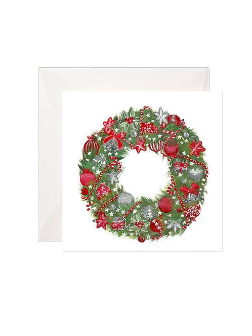 Christmas Wreath Gift Enclosures