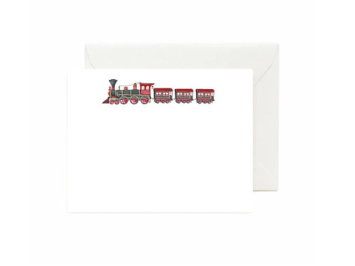 Choo Choo Train Flat Note Cards