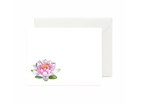 Sacred Lotus Flat Note Cards