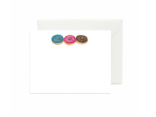 Donuts Flat Note Cards