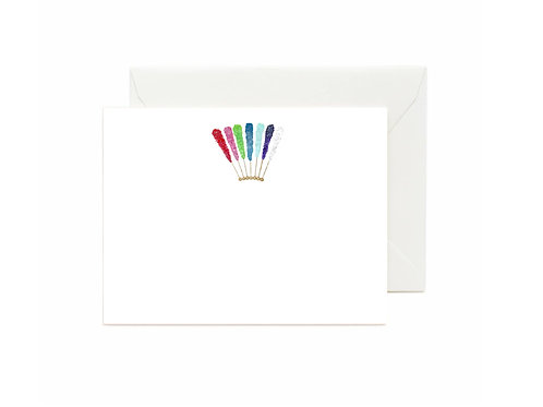 Rock Candy Flat Note Cards