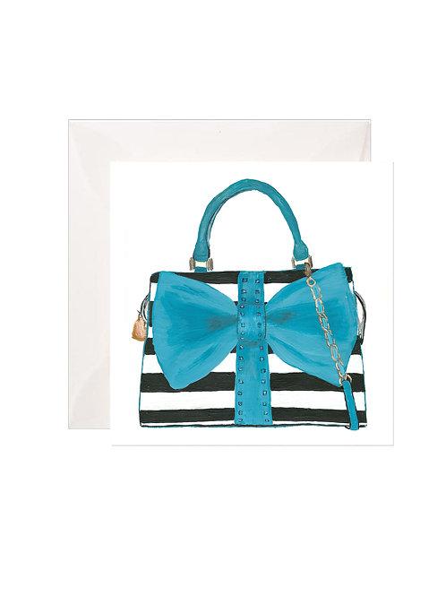 Stripe Bow Purse Gift Enclosures