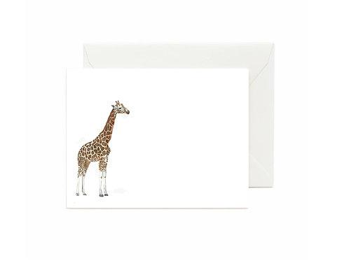 Giraffe Flat Note Cards