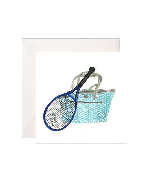 Blue Tennis Bag Gift Enclosures