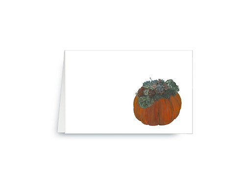 Thanksgiving Pumpkin Place Cards