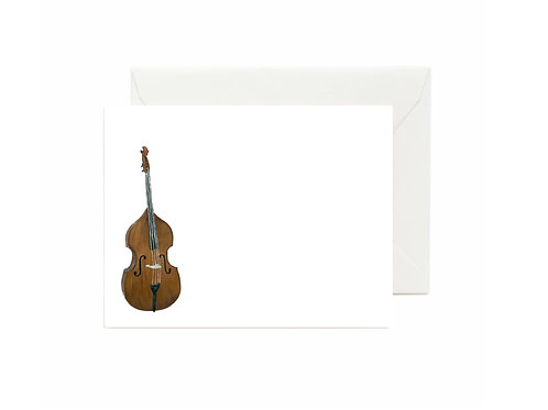 Bass Flat Note Cards
