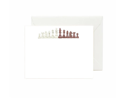 Chess Flat Note Cards