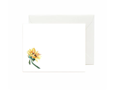 Sunflower Flat Note Cards