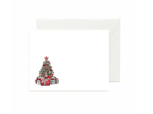 Christmas Tree Flat Note Cards