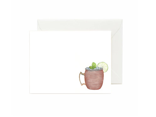Moscow Mule Flat Note Cards