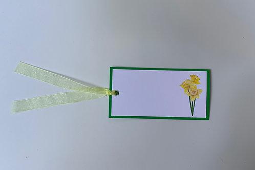 Daffodil Gift Tags