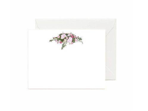 Classical Theme Flat Note Cards