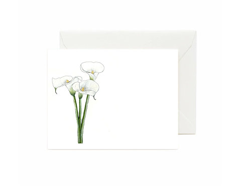 Calla Lily Flat Note Cards