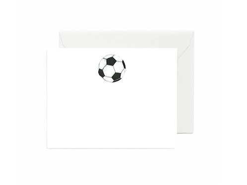 Soccer Flat Note Cards
