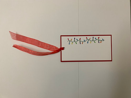 Christmas Lights Gift Tags
