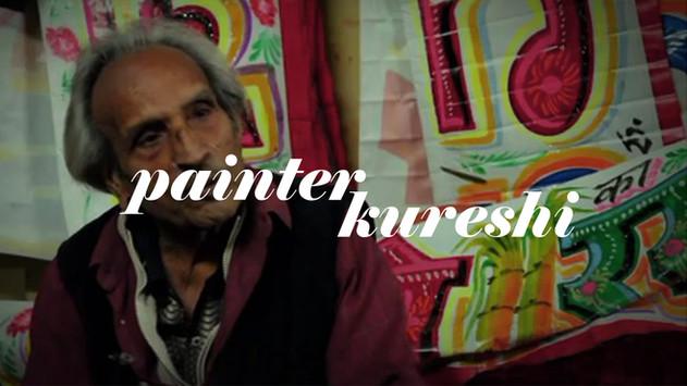 Painter Kureshi // HandPainted Type