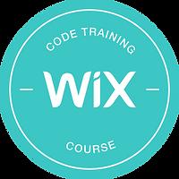 Wix Code Expert Certification -  badge-0