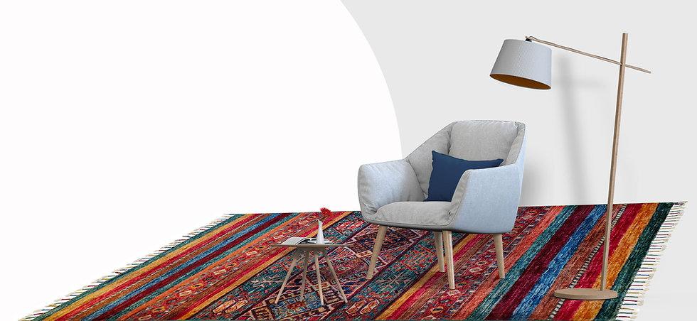 תמונה ראשית, ריהוט ושטיח