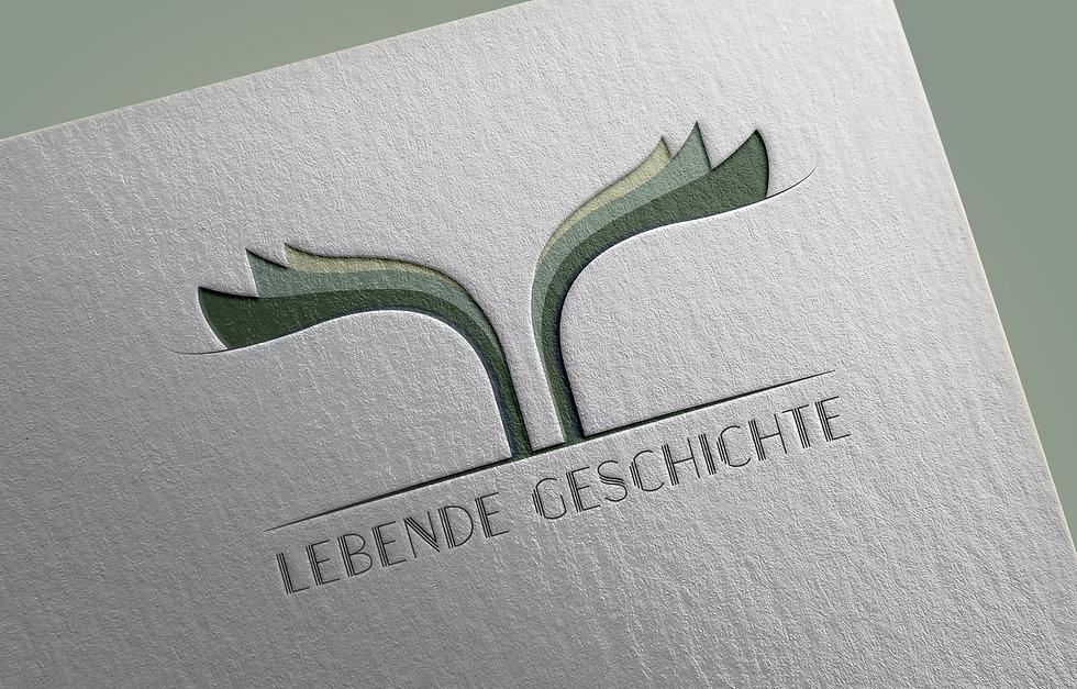 לוגו לחברה שכותבת סיפורי חיים