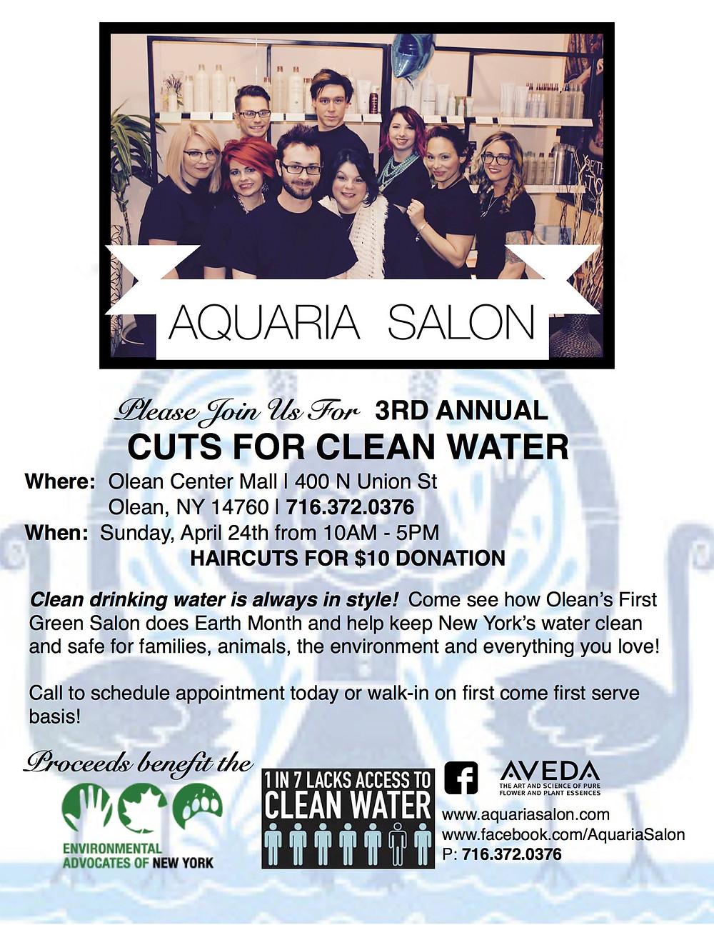 Aquaria Salon 2016 Cut-A-Thon