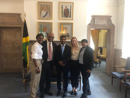Invitation to the Jamaican High Commission