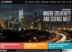 e-Storm Website