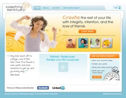 Coaching Sanctuary Website