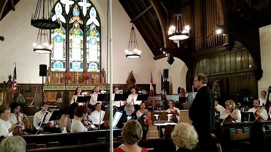 Composer Kermit Poling, guitarist John De Chiaro, and the Shreveport Festival Orchestra premiered Poling's Concierto de Chiaro Sunday.