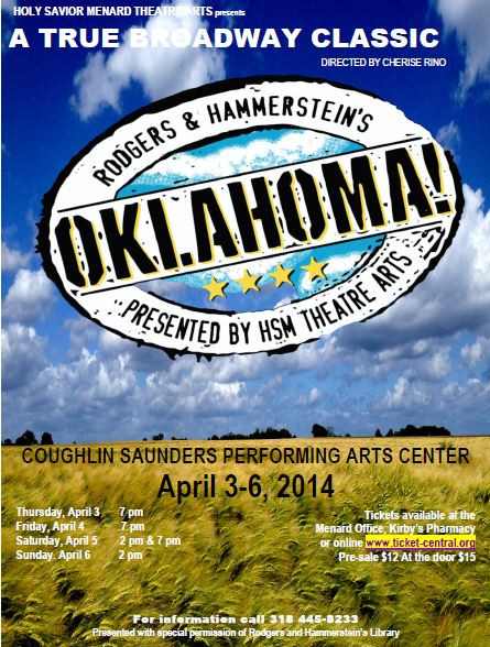 Menard Oklahoma! Rodgers and Hammerstein