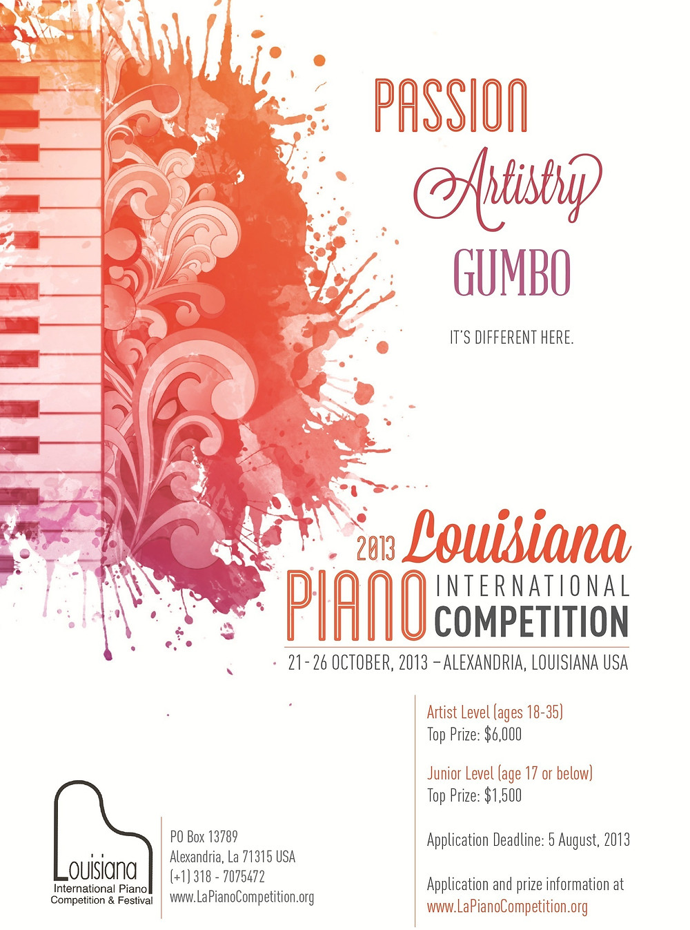 Fifth Biennial Louisiana International Piano Competition