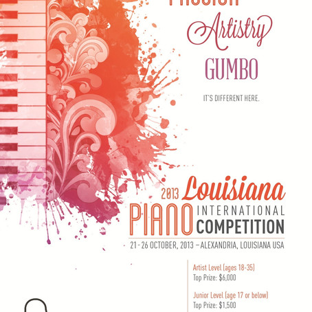 6. And the Pianists Came – Louisiana International Piano Competition to be held Next Week